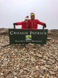 Irlanda trekking Croagh Patrick