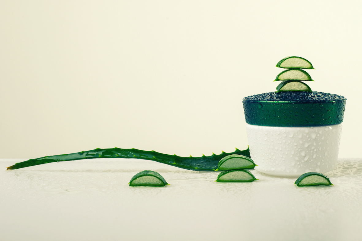 Aloe scrub corpo