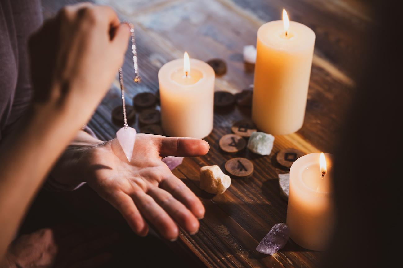 pendolo divinatorio intramundi