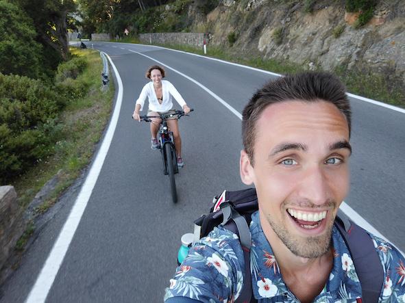 Isola del Giglio bicicletta