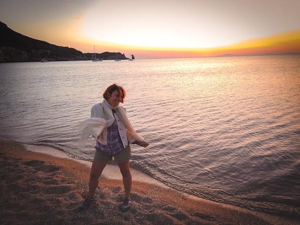 Giglio Campese tramonto Intramundi