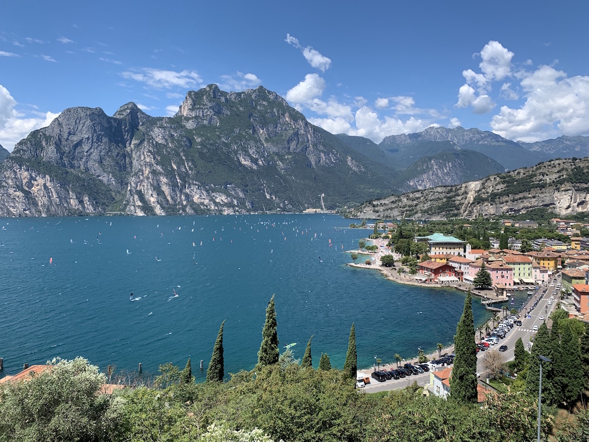 Sentiero Panoramico Busatte Tempesta Lago di Garda Torbole