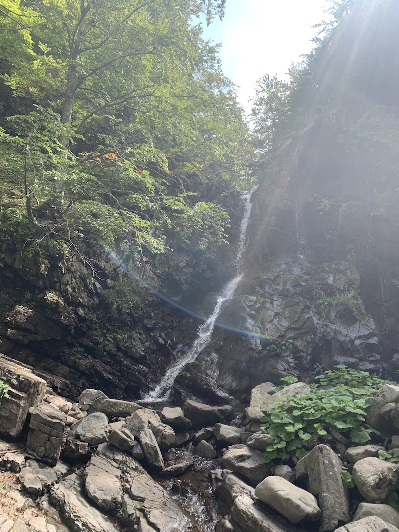 Le cinque cascate di Sant'Annapelago Intramundi