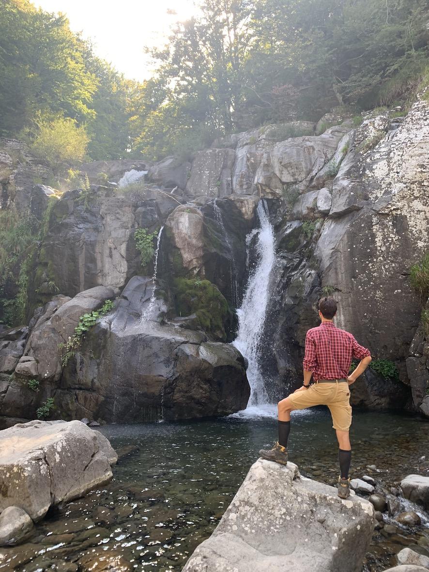 Trekking cascate intramundi