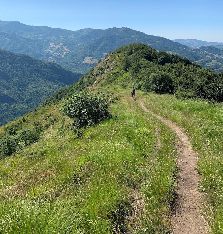 Sentiero 405 Lago Pratignano