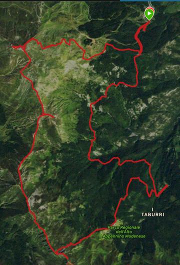Cimoncino Taburri Monte Cimone