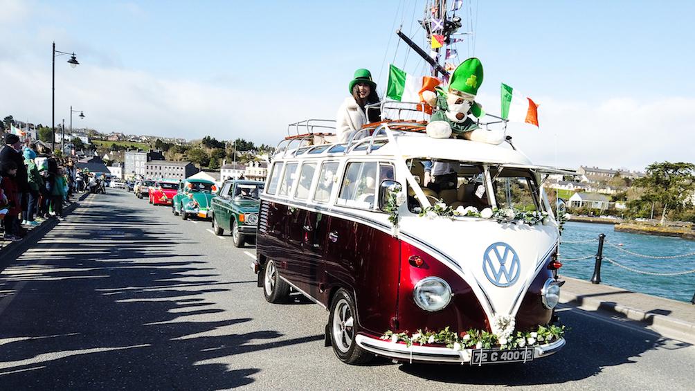 Ireland Kinsale parata Kinsale saint patrick day
