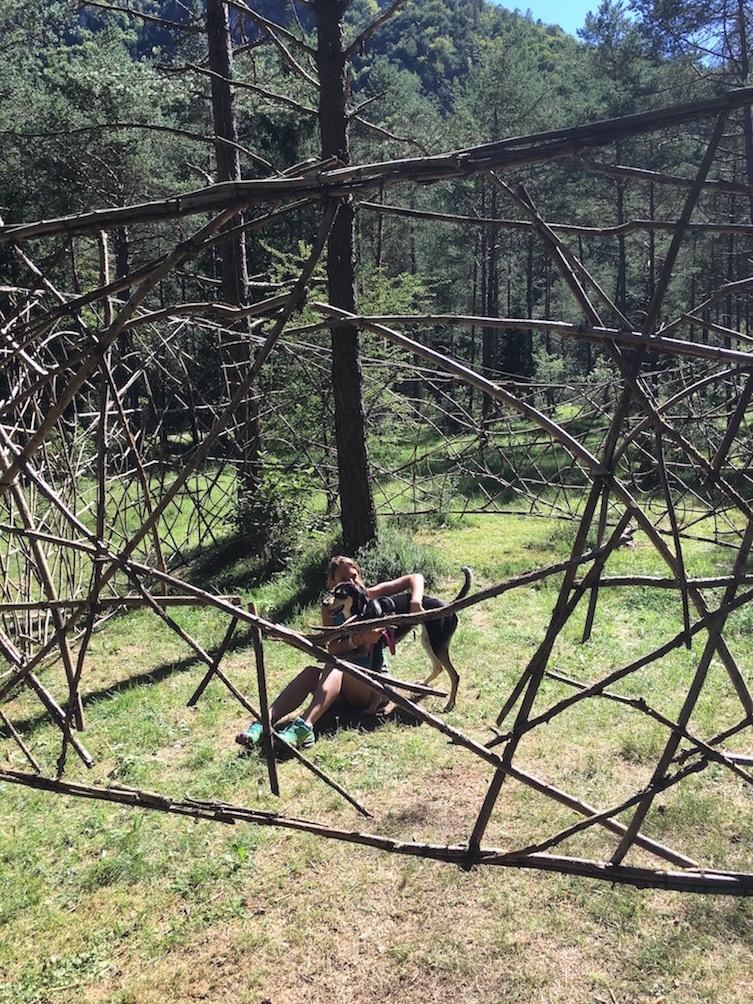 LIMITE INFINITO ledro land art intramundi lago ledro