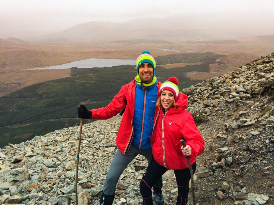 Irlanda trekking Croagh Patrick pellegrinaggio