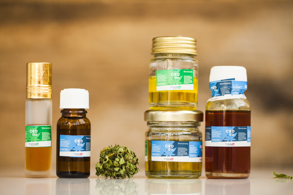 cannabis product oil e cbd