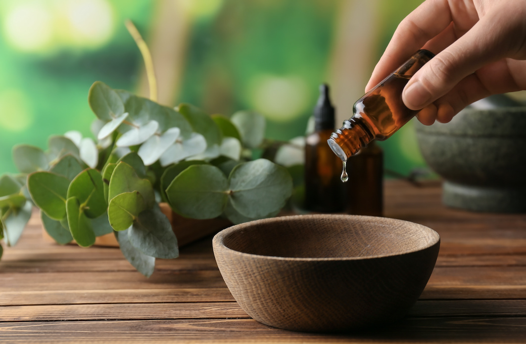 Olio massaggio CBD