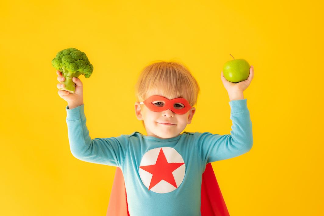 Alimentazione vegana bambini