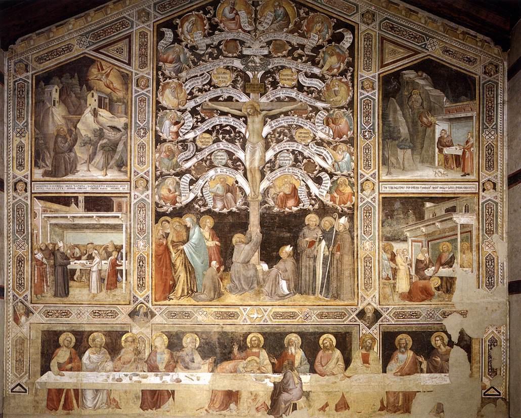 Taddeo Gaddi basilica firenze