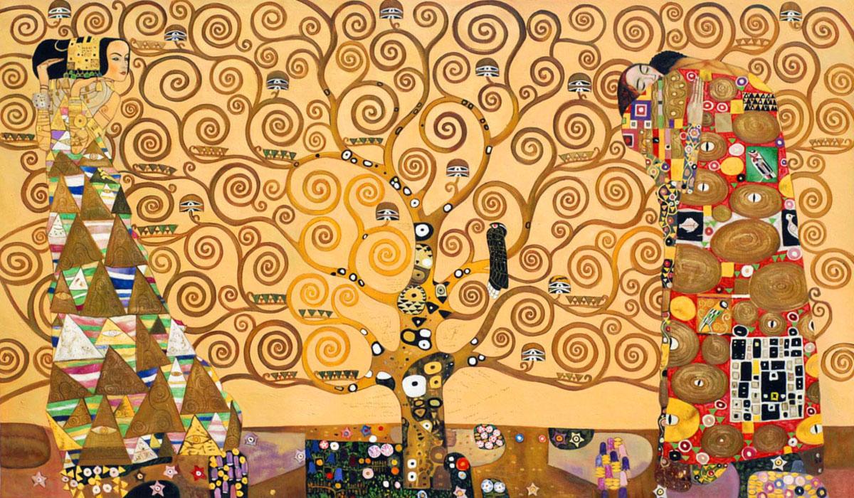 albero vita klimt intramundi